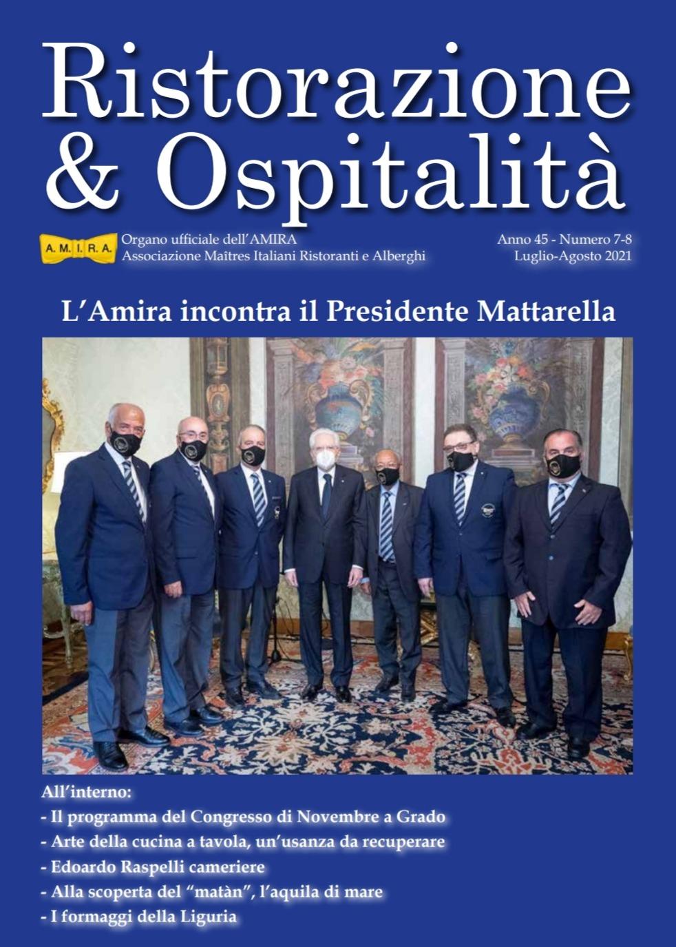 """Etnos tra le pagine di """"Risorazione & Ospitalità"""""""