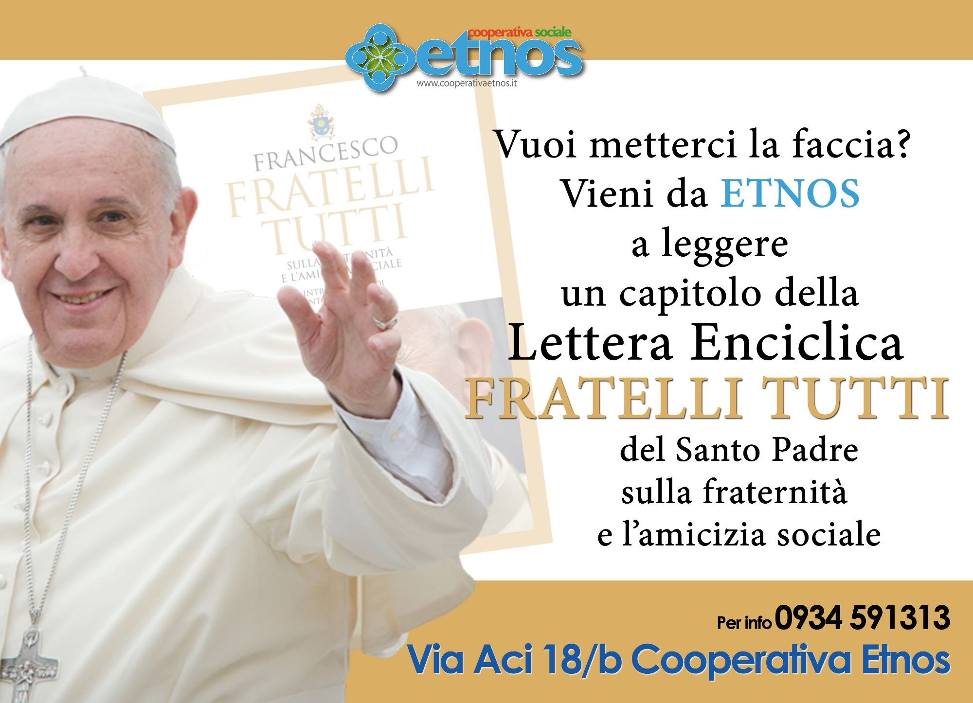 """Lettera Enciclica """"Fratelli Tutti"""""""